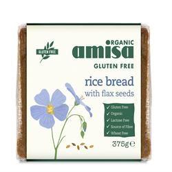 Rice & Flax Bread - 375g
