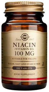 Niacin (Vitamin B3) 100mg - 100 Tabs