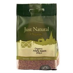 Organic Alfalfa Seeds - 250g
