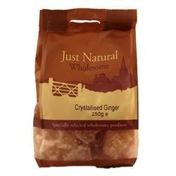 Crystallised Ginger - 250g