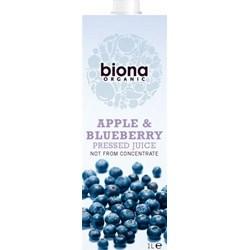 Organic Apple & Blueberry Juice - 1L