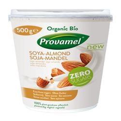 Organic Soya Almond No Sugar - 500g