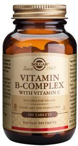 B-Complex with Vitamin C - 100 Tabs