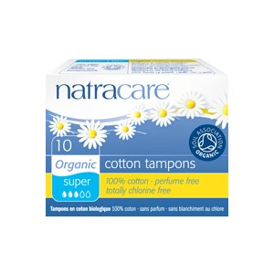 Super Non Applicator Tampons - 10 Tampons