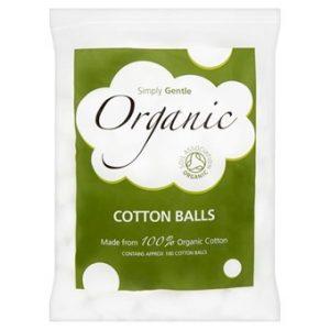 Organic Cotton Balls - 100 Balls