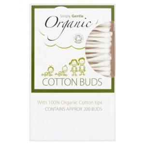 Organic Cotton Buds - 200 Sticks