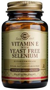Vitamin E with Yeast Free Selenium - 50 Veg Caps