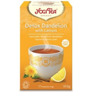 Detox Dandelion with Lemon Organic - 17 Bag