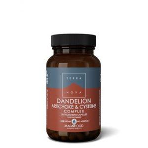 Dandelion, Artichoke and Cysteine Complex - 50caps