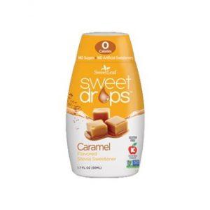 Sweet Drops Liquid Stevia Caramel - 50ml